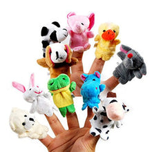 Load image into Gallery viewer, Guilty Gadgets 10x Farm Zoo Animal Finger Puppets Toys Boys Girls Babys Party Bag Filler - iBuy Africa