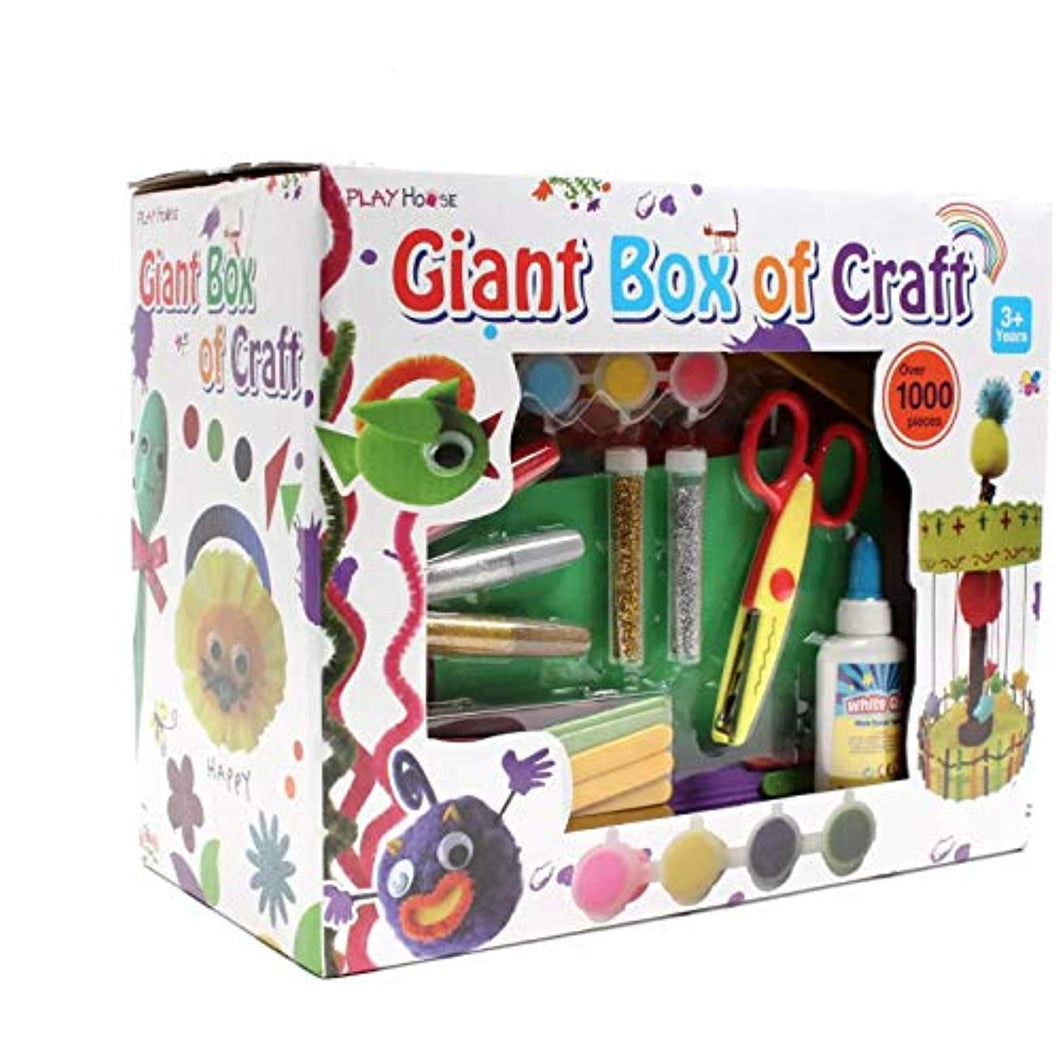 Giant Box of Craft 1000 Pieces - iBuy Africa