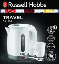 Load image into Gallery viewer, Russell Hobbs 23840 Compact Travel Electric Kettle, Plastic, 1000 W, White - iBuy Africa