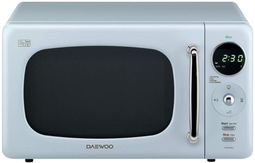 Daewoo Touch Control Microwave with Zero Standby ECO Function Blue - iBuy Africa