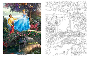 Disney Dreams Collection Thomas Kinkade Studios Coloring Book - iBuy Africa