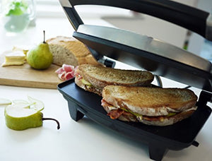 Breville Sandwich/Panini Press and Toastie Maker, 3-Slice, Stainless Steel - iBuy Africa