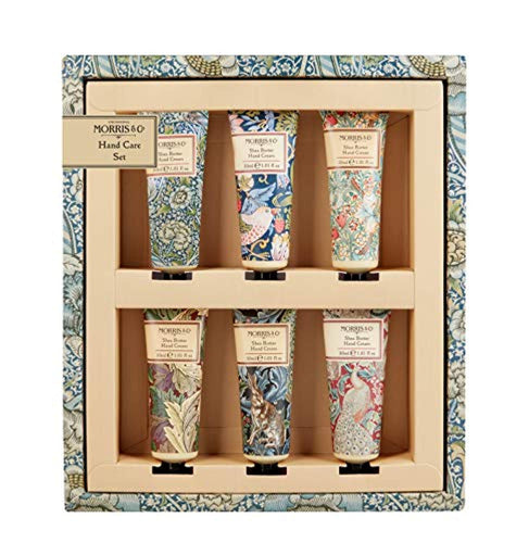 Morris & Co Library of Prints Hand Care Set 6x30ml Hand Cream - iBuy Africa