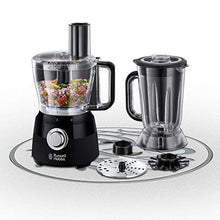 Load image into Gallery viewer, Russell Hobbs 24732 Desire Food Processor, 1.5 Litre Food Mixer with 5 Chopping, Slicing and Dough Attachments, Matte Black, 600 W - iBuy Africa