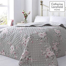Load image into Gallery viewer, Catherine Lansfield Canterbury Easy Care Super King Duvet Set Grey - iBuy Africa
