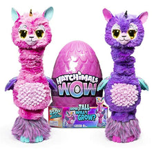 Load image into Gallery viewer, HATCHIMALS WOW, Llalacorn 32 Inch (81.3 cm) Tall Interactive Hatchimal with Re-Hatchable Egg (Styles May Vary), Multicolour - iBuy Africa