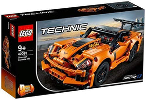LEGO Technic Chevrolet Corvette ZR1 Race Car, 2 in 1 Hot Rod Toy Car Model, Racing Vehicles Collection - iBuy Africa