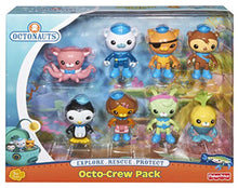 Load image into Gallery viewer, Fisher-Price Y9297 - Octonauts 8 Figure Playset - Octo-Crew Figurine Set - iBuy Africa