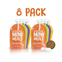 Load image into Gallery viewer, Baby Food Pouches, Reusable Weaning Fill Pouch Bags: Feeding; Freezer Storage - iBuy Africa