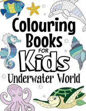 Load image into Gallery viewer, Colouring Books For Kids Underwater World: For Kids Aged 7+ - iBuy Africa