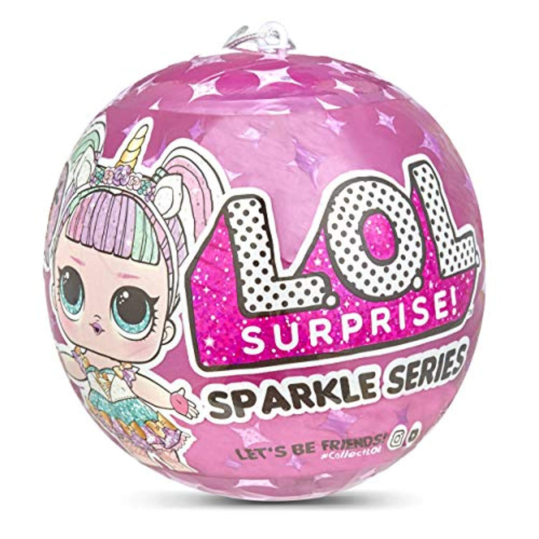 L.O.L. Surprise! L.O.L Sparkle Series with Glitter Finish and 7 Surprises, Multi - iBuy Africa