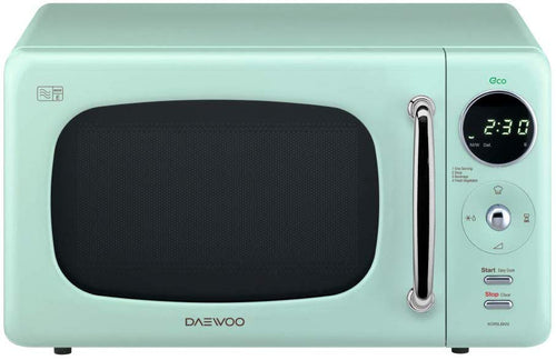Daewoo Touch Control Microwave with Zero Standby ECO Function Green - iBuy Africa