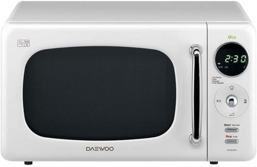 Daewoo Touch Control Microwave with Zero Standby ECO Function White - iBuy Africa