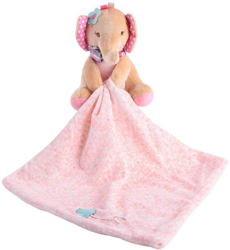 Toddler Baby Appease Towel Adorable Soft Square Security Blanket Plush Stuffed Cartoon Animal Doll Pacifying Towels Comforter Bedtime Cuddle Toy Gift for Kids Boys Girls(Elephant) - iBuy Africa