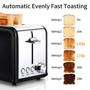 Morpilot Toasters 2 Slice with Wide Slot,Toaster - iBuy Africa