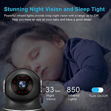 Load image into Gallery viewer, littlelf Wireless Camera Indoor, 1080P Smart Wifi Camera Home Security Pet Monitor with Motion Tracking, Night Vision, 2-Way Audio for Pet/Baby/Elder Works With Alexa - iBuy Africa