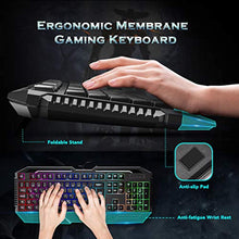 Load image into Gallery viewer, PICTEK Gaming Keyboard, Wired USB Computer Keyboard LED Backlit (UK Layout) - iBuy Africa