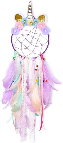Basumee Unicorn Dream Catcher Wall Decor  Colorful Lavender With Ring Top - iBuy Africa