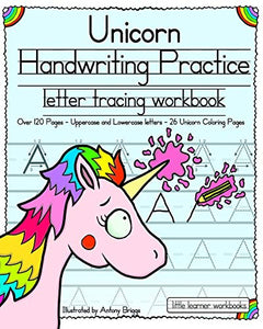 Unicorn Handwriting Practice: Letter Tracing Workbook (Little Learner Workbooks) - iBuy Africa