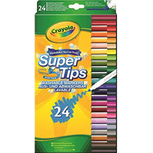 Load image into Gallery viewer, Crayola SuperTips Washable Felt Tip Colouring Pens, Pack of 24 - iBuy Africa