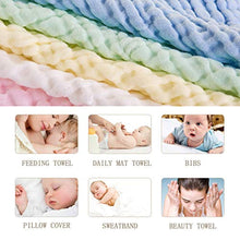 Load image into Gallery viewer, Baby Muslin Squares Set,Baby Muslin Wash Cloths - iBuy Africa