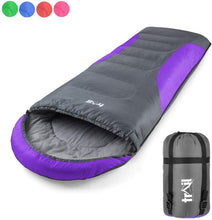 Load image into Gallery viewer, Adult Sleeping Bag 3 Season Single Person Warm Hood Carry Bag Trail Alpine 250 - iBuy Africa