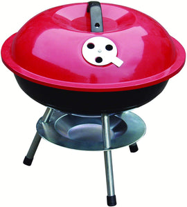 Hamble Redwood Leisure 14-inch Portable Barbecue - Red - iBuy Africa