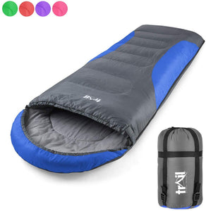 Adult Sleeping Bag 3 Season Single Person Warm Hood Carry Bag Trail Alpine 250 - iBuy Africa