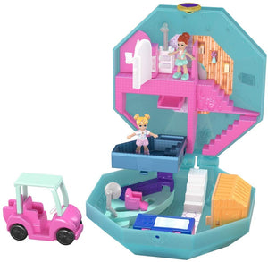 Polly Pocket FRY37 Pocket World Snow Secret Compact Play Set, Multi-Colour - iBuy Africa