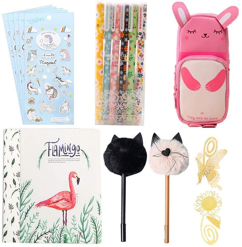 18 Pcs Unicorn Flamingo Stationery Set Style 4 - iBuy Africa