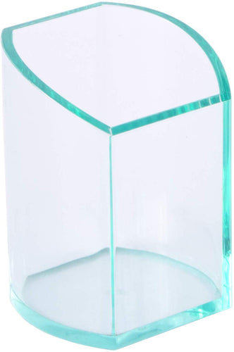 Osco Clear Acrylic Square Pen Pot - iBuy Africa