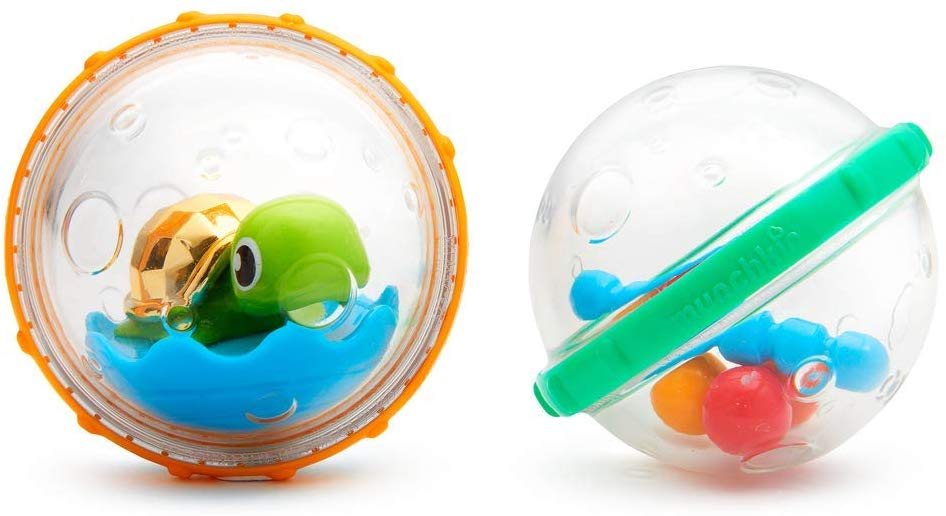 Munchkin Float and Play Bubbles Bath Toy, Pack of 4 (Assorted model) - iBuy Africa