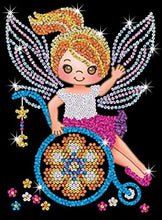 Load image into Gallery viewer, Sequin Art & Toy Like Me 1930 Izzy Fairy Craft Kit From The Red Range 28 x 37 cm - iBuy Africa