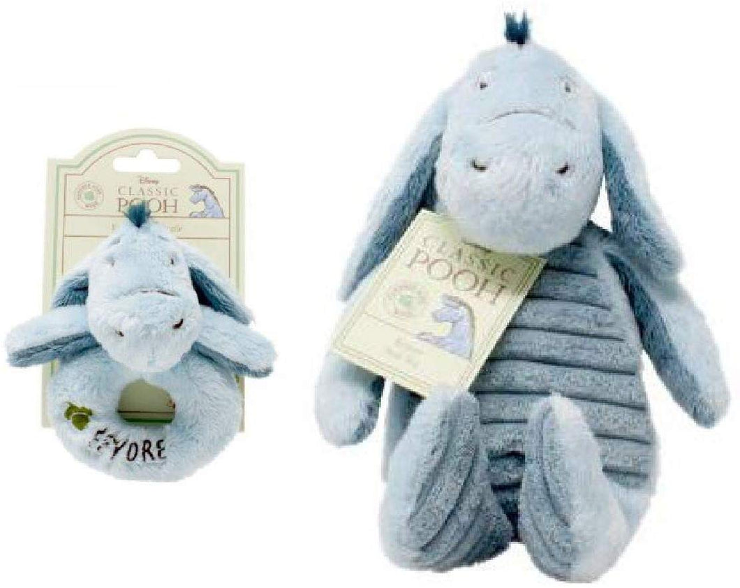 Price Toys Eeyore Soft Toy Hundred Acre Wood Collection (Eeyore Teddy/Comforter) - iBuy Africa