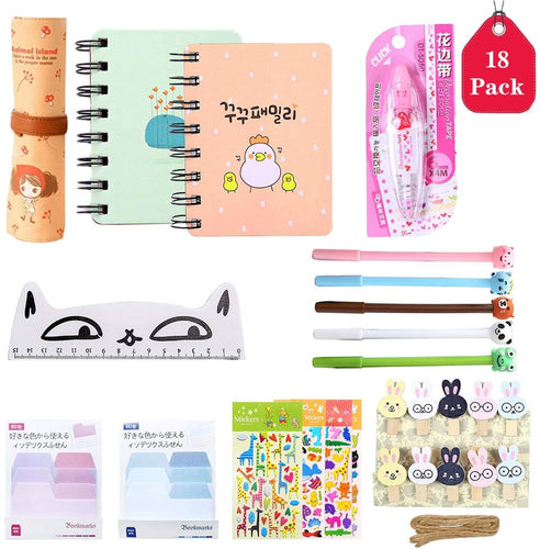 18 Pcs Unicorn Flamingo Stationery Set Style 1 - iBuy Africa