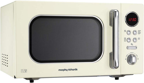 Morphy Richards Microwave Accents Colour Collection Digital Solo Microwave Cream - iBuy Africa