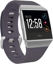 Load image into Gallery viewer, Fitbit Ionic Health & Fitness Smartwatch (GPS) with Heart Rate, Swim Tracking & Music - Adidas Edition (Ink Blue/Ice Grey) - iBuy Africa