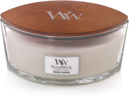 WoodWick Ellipse Scented Candle with Crackling Wick | Willow | Up to 50 Hours Burn Time Smoked Jasmine - iBuy Africa