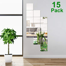 Load image into Gallery viewer, 32 Pieces Removable Acrylic Mirror Setting Wall Sticker Decal for Home Living Room Bedroom Decor (Style 1, 32 Pieces) - iBuy Africa