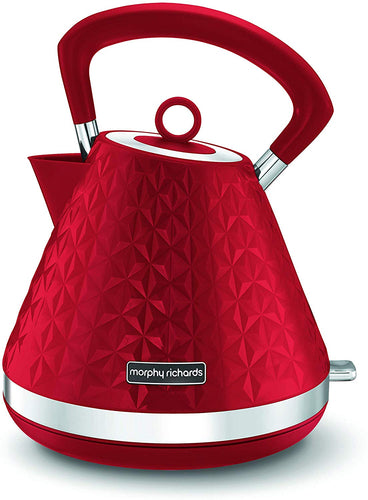 Morphy Richards Vector Pyramid Kettle 108132 Traditional Kettle Cream - iBuy Africa