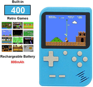Retro Games Console Handheld with 400 NES Classic NES FC Games, 2.8 Inch Portable Mini Pocket Gameboy, Rechargeable 800mAh Battery, TV Output, Christmas Birthday Gift for Men Women Boys Girls - iBuy Africa