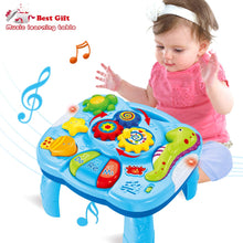 Load image into Gallery viewer, Baby Toys Musical Learning Table 12 to 18 Months up-Early Education Music Activity Center Game Table Toddlers,Infant,Kids Toys 1 2 3 Years Old Boys & Girls- Lighting & Sound - iBuy Africa