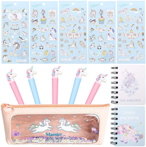 18 Pcs Unicorn Flamingo Stationery Set Style 5 - iBuy Africa