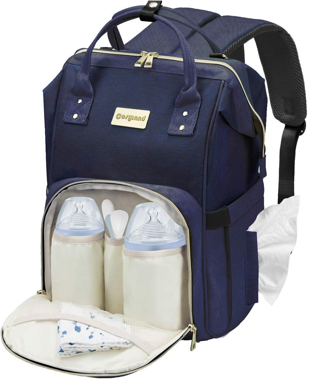 Cosyland Diaper Bag Backpack for Mom Blue - iBuy Africa