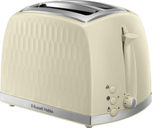 Load image into Gallery viewer, Russell Hobbs Toaster - Contemporary Honeycomb Design with Extra Wide Slots and High Lift Feature - iBuy Africa