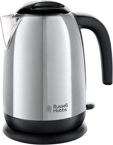 Russell Hobbs Cambridge 3000 W Kettle 20070, Stainless Steel Silver Kettle Adventure Polished Kettle - iBuy Africa