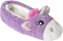 Load image into Gallery viewer, Ladies Enchanting Novelty Unicorn Plush Lined Ballet Ballerina Mule Slipper with Fabric Non-Slip Sole - iBuy Africa