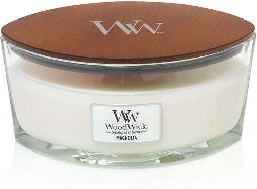 WoodWick Ellipse Scented Candle with Crackling Wick | Willow | Up to 50 Hours Burn Time Magnolia - iBuy Africa