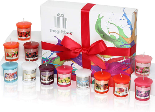 Glitterbeam Luxury Candle Gift Set with 16 Scented Wax Candles. - iBuy Africa
