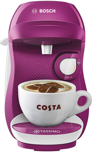 Bosch TASSIMO Happy TAS1007GB Coffee Machine, 1300 W, 0.7 Litres, Cream - iBuy Africa